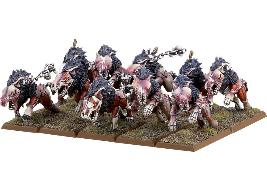 ����� ������� Warhammer Vampire Counts Dire Wolves (99120207014)