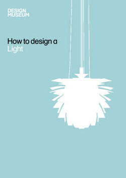 How To Design a Light