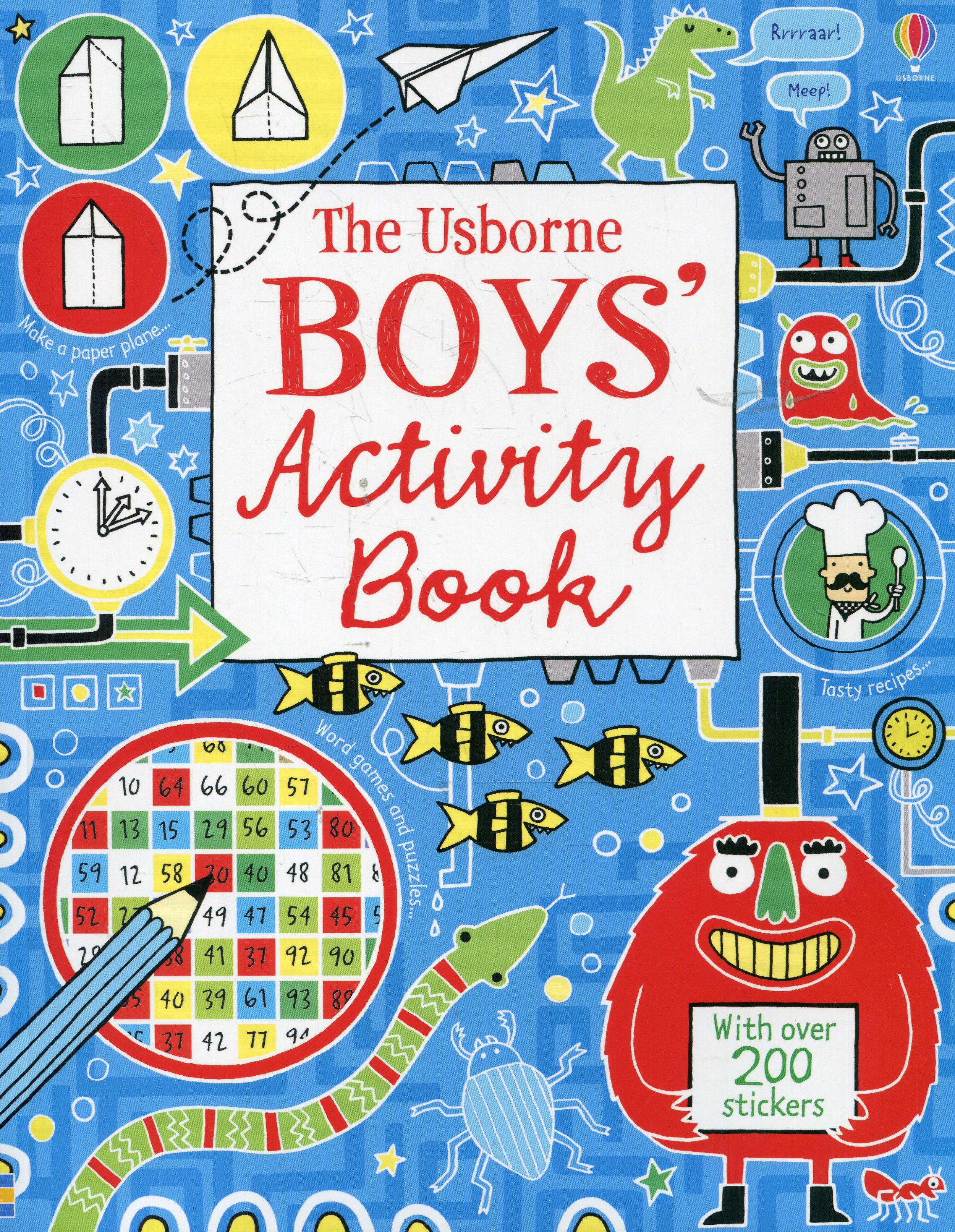 Boy's Activity Boo