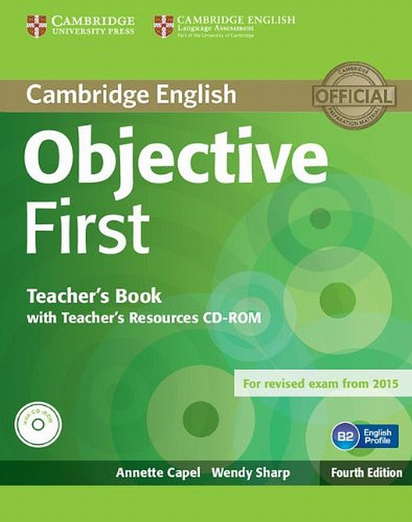 Objective First. Teachers Book with Teachers Resources CD-ROM