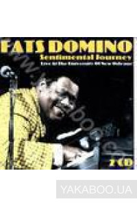 Фото - Fats Domino: Sentimental Journey. Live at the University of New York (2 CD)