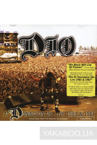 Фото - Dio: Dio at Donington UK: Live 1983 & 1987 (2CD)