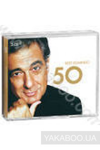 Фото - Сборник: Placido Domingo. Best 50 (3 CD's) (Import)