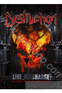 Фото - Destruction: Live Discharge. 20 Years of Total Destruction (DVD)