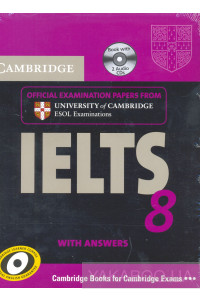 Фото - Cambridge IELTS 8 Self-study Pack. Student's Book (+ 2 CDs)