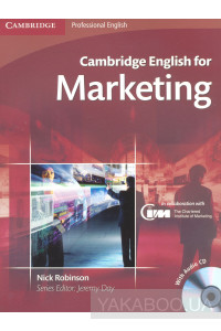 Фото - Cambridge English for Marketing Student's Book (+CD)