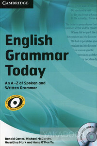 Фото - English Grammar Today: An A-Z of Spoken and Written Grammar (+ CD)