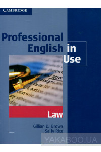 Фото - Professional English in Use. Law