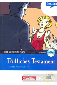 Фото - Todliches Testament. Mit Audio-CD