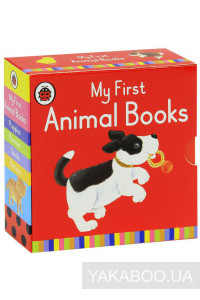 Фото - My First Animal Books (комплект из 4 книг)