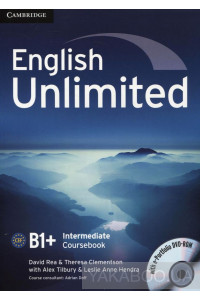 Фото - English Unlimited Intermediate Coursebook (with e-Portfolio DVD-Rom)