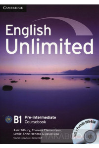 Фото - English Unlimited Pre-intermediate Coursebook (With e-Portfolio DVD-Rom)