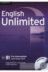 Фото - English Unlimited Pre-intermediate. Self-study Pack (Workbook with DVD-ROM)