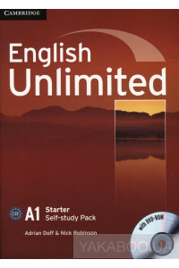 Фото - English Unlimited. Starter Self-study Pack (Workbook with DVD-ROM)