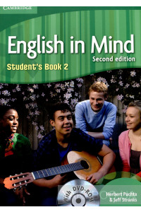Фото - English in Mind. Student's Workbook. Second Edition (+DVD)