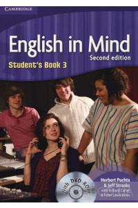 Фото - English in Mind. Student's Book 3. 2nd Edition (With DVD-ROM)