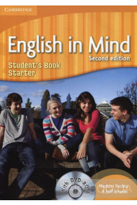 Фото - English in Mind. Stater Student's Book. 2nd Edition (With DVD-ROM)