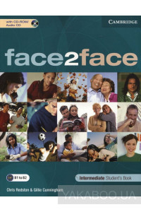 Фото - Face2Face Intermediate Student's Book (With Audio CD)
