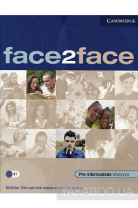 Фото - Face2Face. Pre-Intermediate Workbook with Key