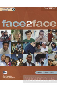 Фото - Face2face. Starter Student's Book (+ CD-ROM)