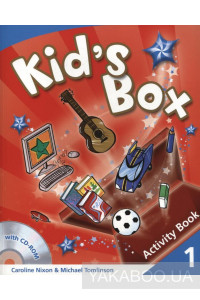 Фото - Kid's Box 1. Activity Book (+ CD-ROM)