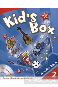 Фото - Kid's Box 2. Activity Book (+ CD-ROM)