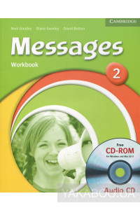 Фото - Messages 2. Workbook (+ CD)