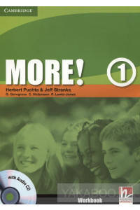 Фото - More! Level 1. Workbook (+ CD-ROM)