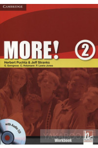Фото - More! Level 2. Workbook (+ CD-ROM)