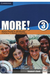 Фото - More! Level 3. Student's Book (+ Interactive CD-ROM)