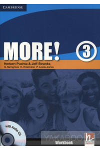 Фото - More! Level 3. Workbook (+ CD-ROM)
