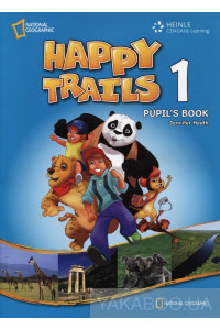 Фото - Happy Trails 1. Pupil's Book (with CD)