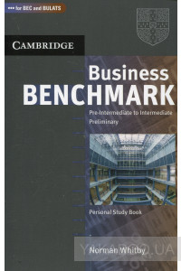 Фото - Business Benchmark: Pre-Intermediate to Intermediate: Personal Study Book