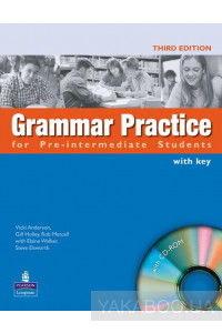 Фото - Grammar Practice Pre-intermediate Book with Key (+ CD-ROM)