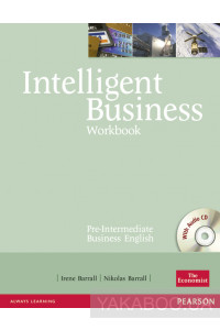 Фото - Intelligent Business Pre-Intermediate Workbook (+ CD)
