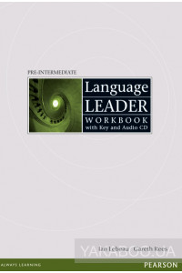 Фото - Language Leader Pre-Intermediate Workbook with key (+ CD)