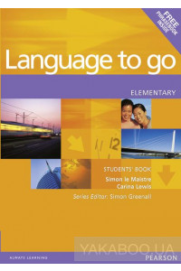 Фото - Language to go Elementary Students' Book with Phrasebook