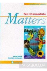 Фото - Pre-Intermediate Matters. Students' Book