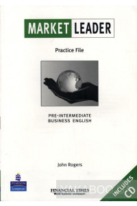 Фото - Market Leader Pre-intermediate Practice File Pack