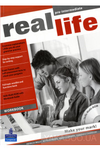 Фото - Real Life Global Pre-Intermediate Workbook (+ CD-ROM)