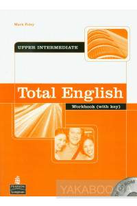 Фото - Total English Upper Intermediate Workbook with key (+ CD)