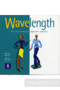 Фото - Wavelength Pre-Intermediate Set of 2 Class Audio CDs