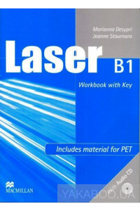 Фото - Laser B1 Second Edition Workbook with Key (+ CD-ROM)