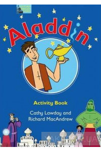 Фото - Fairy Tales Aladdin Activity Book