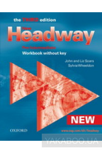 Фото - New Headway Pre-Intermediate. Workbook (Without Key)