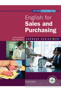 Фото - Oxford English for Sales & Purchasing. Student's Book (+ CD-ROM)