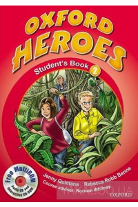 Фото - Oxford Heroes 2. Student's Book Pack (+ CD-ROM)