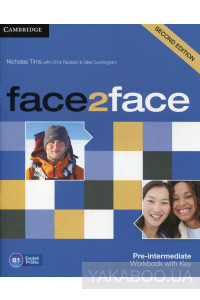 Фото - Face2face. Pre-intermediate. Workbook with Key