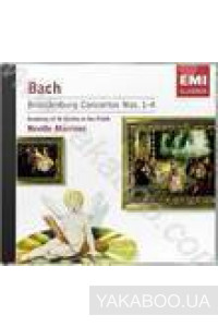 Фото - Academy of St. Martin in the Fields (Bach): Brandenburg Concertos Nos. 1-4 (Angel) (Import)