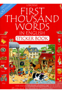 Фото - First Thousand Words in English. Sticker Book